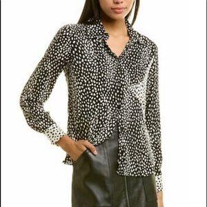 Maje Cilia blouse size large NWT